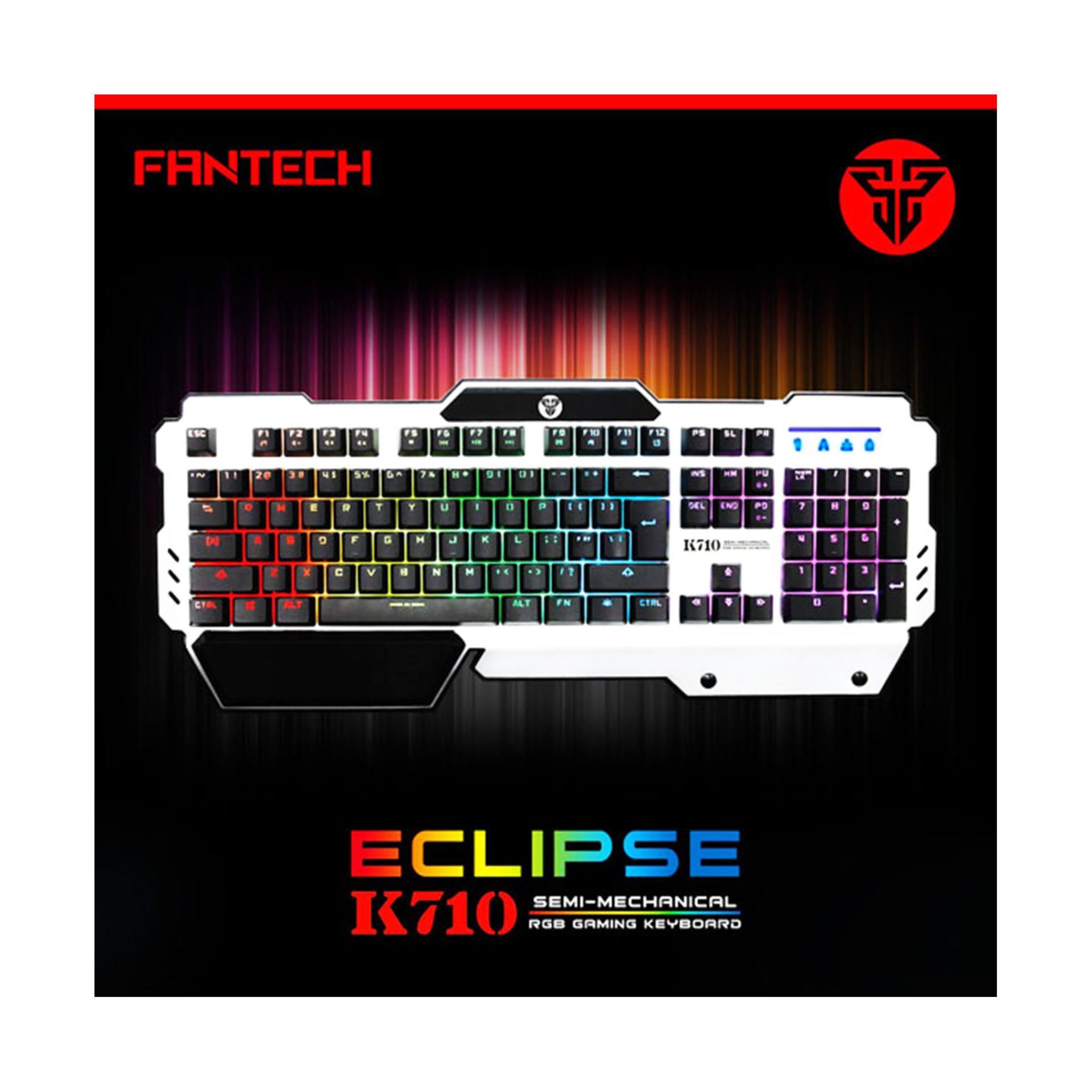 Fantech K710 Eclipse Keyboard - Keyboard Gaming