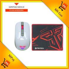 Fantech Mouse Gaming G10- Putih + Fantech Mousepad Gaming MP 25
