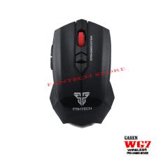 Harga Fantech Mouse Wireless Garen Wg7 Hitam Satu Set