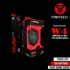 Jual Beli Online Fantech Wireless Gaming W4 Hitam Mp25