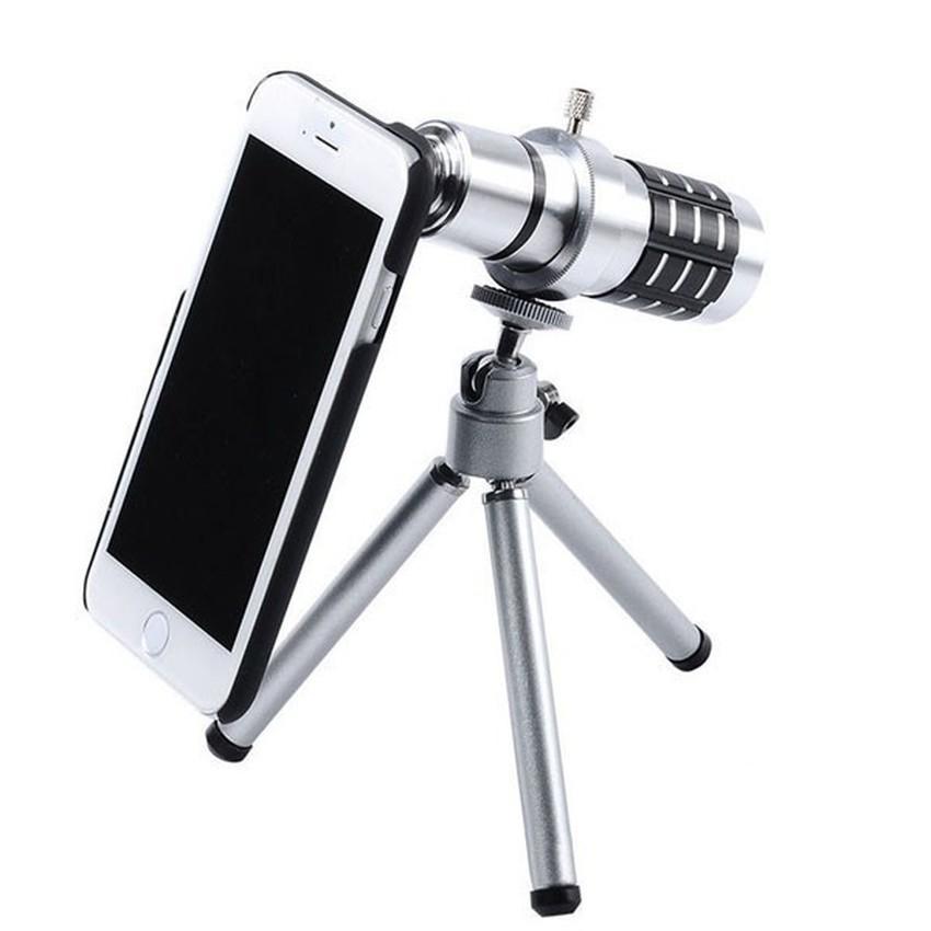 Harga Fashion 12X Zoom Optik Kamera Lensa Teleskop Dengan Tripod Untuk Iphone 6 Internasional Branded