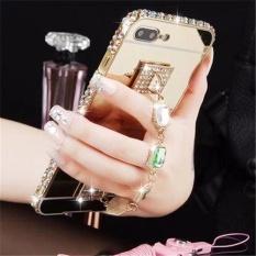 Fashion Bling Bumper Logam dan Cermin PC Belakang Sampul Case untuk Xiao Mi Redmi 4X-Intl