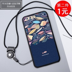 Fashion Cartoon Painting Pattern Matting Silicone soft anti fall Soft TPU Phone case/ Phone shell/ Phone cover/Phone protector for Hua wei Honor 8 / Huawei Honor 8