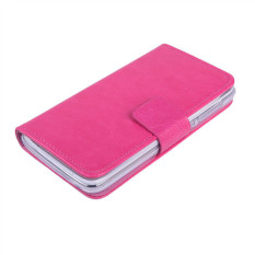 Fashion Deal Case Pelindung Flip Cover For Lenovo A328/A328t Hot Pink