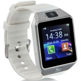 Review Fashion Dz09 Bluetooth Smart Watch Wrist Watch Sim Insert Anti Lost Call Reminder Phone Mate White Intl Terbaru