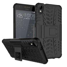 Fashion Heavy Duty Shockproof Dual Layer Hybrid Armor Pelindung Cover dengan Kickstand Case untuk HTC Desire 825-Intl