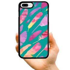 Modis Seksi Penjualan Kartun Keren Latar Belakang Hijau Warna-warni Lukisan Bulu Kreatif Pola Dicetak Buah Keras Plastik Telepon Case untuk Samsung galaksi Note 3-Internasional