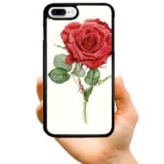 Modis Seksi Penjualan Kartun Keren Satu Mawar Merah Cabang Lukisan Retro dan Vintage Busana Kreatif Pola Dicetak Buah Keras Plastik telepon Case untuk Samsung Galaksi Note 3-Internasional