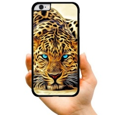Fashion Hot Sale Cute Cool Brown and Black Stripe Leopard Creative Pattern Hard Plastic Phone Case For Apple iPhone 5