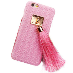 Fashion Mewah Phone Back Case untuk Apple untuk IPhone 6 Plus (Warna: Pink)