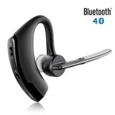 V8 Bisnis Earphone Bluetooth Headset Portabel Di Telinga dengan Mic