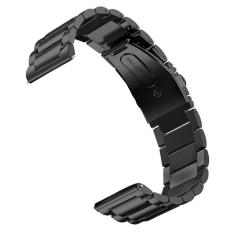 Jual Fashion Portable Penggantian Plating Watchband Stainless Steel Gelang Jam Strap Untuk Samsung Gear S3 Classic Frontier Model Smart Watch Black Intl Thinch