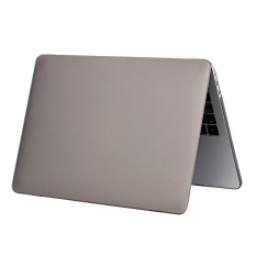 Fashion Portable Scrubs Protection Case Impact Resistance Shockproof Non-slip Laptop Cover Shell untuk 13 Inci MacBook Pro Retina 2016 A1706 MacBook Pro Retina 2016 A1708 Grey-Intl
