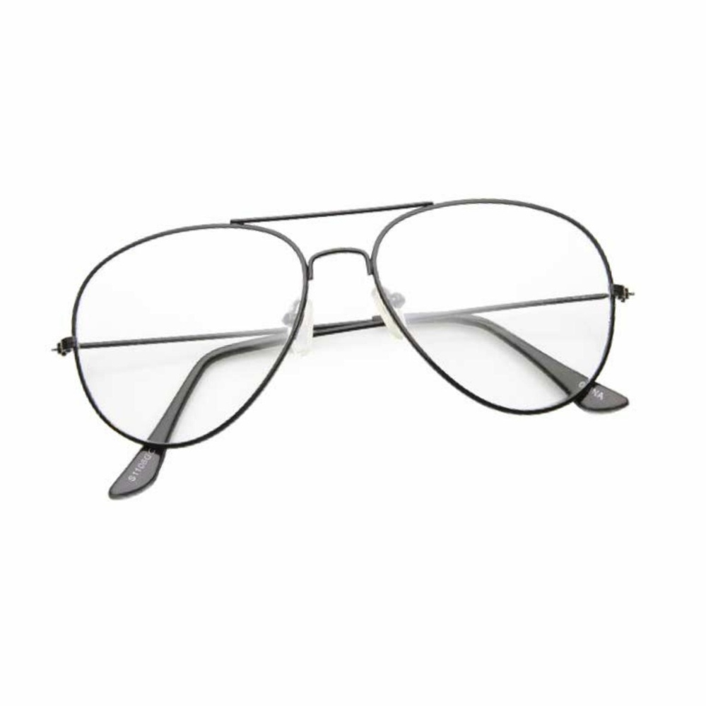 Fashion SunGlasses Style - Kacamata Pria dan Wanita - Cool - Anti UV -  Hitam - e2e7f95bac