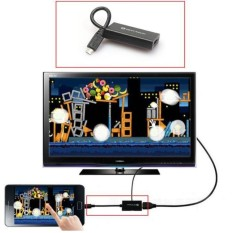 Fashiondeal 11pin Mini Micro USB 2.0 MHL untuk HDMI Kabel HD 1080 P S3-Intl