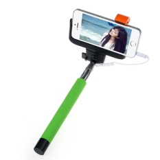 Fashiondeal For IOS Android Extendable Handheld Self-portrait Tripod Monopod New - intl