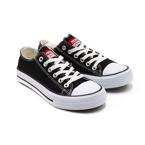 Faster Sepatu Sneakers Kanvas Wanita 1603-03 - Hitam