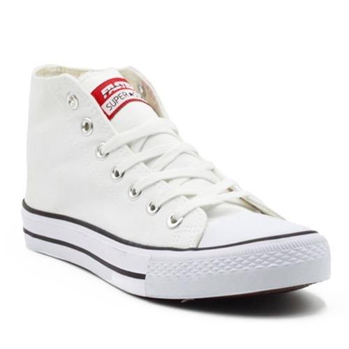 Toko Faster Sepatu Sneakers Kanvas Wanita 1603 04 Putih Faster Online