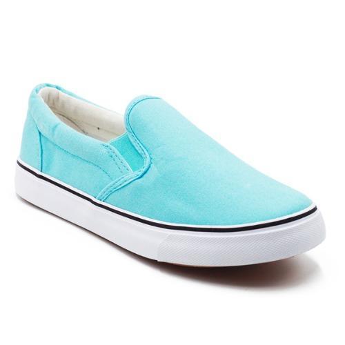 Faster Sepatu Sneakers Kanvas Wanita 1603 06 Tosca Putih Asli