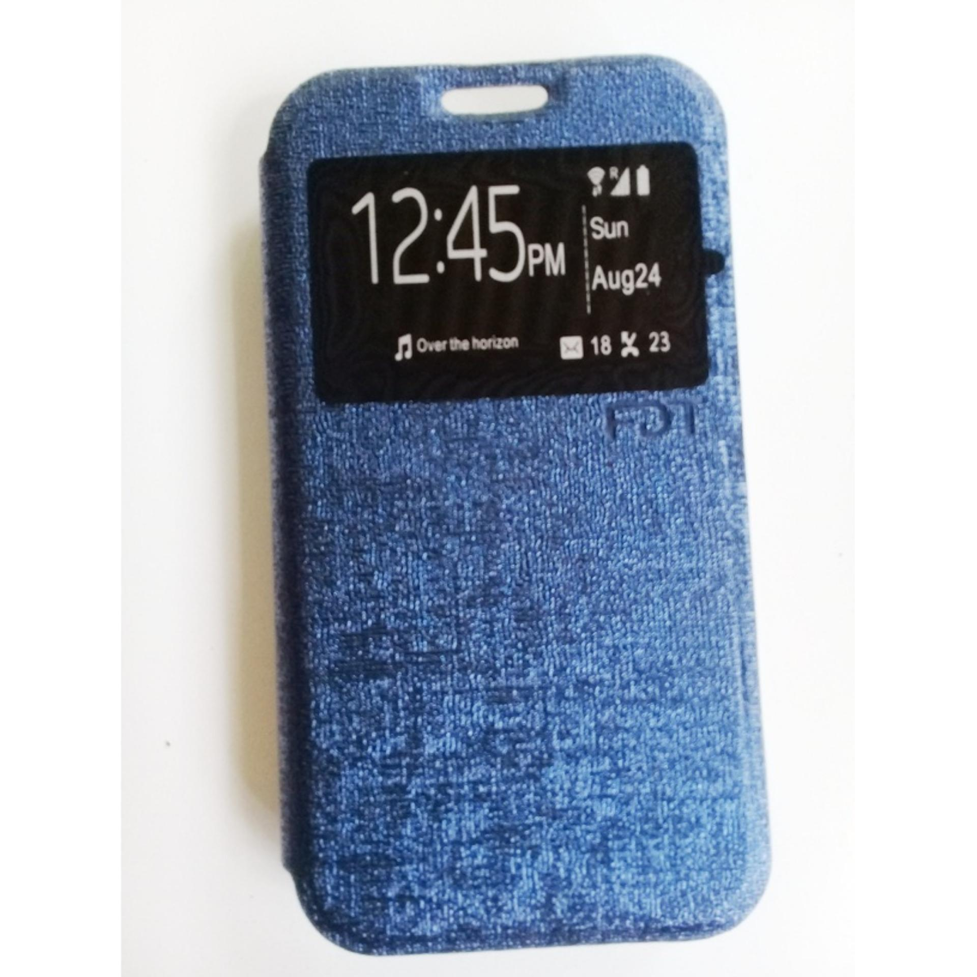 FDT Flip Cover / sarung hp /Cover case for Samsung Galaxy J1 Mini