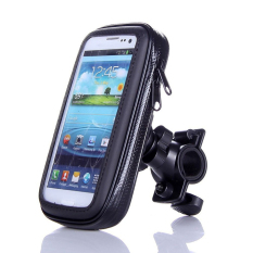 FDT Motorcycle Waterproof Holder Bag / Holder Motor Anti Air for smartphone 5,5 inches - Hitam