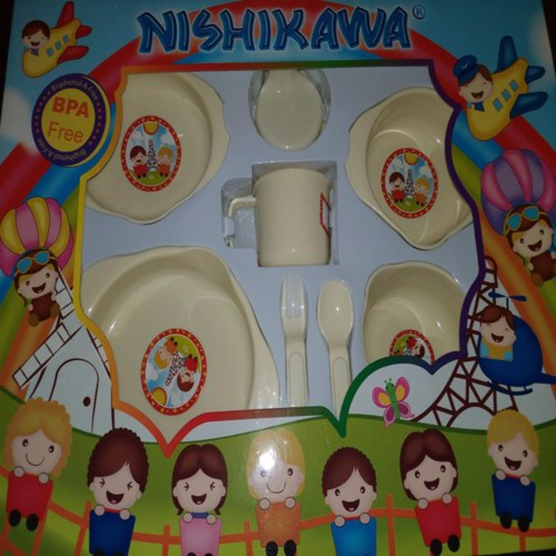 Buy Sell Cheapest Nishikawa Feeding Set Best Quality Product Deals Tempat Makan Kecil Ns 8407