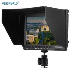 Feelworld FW74K Portable 7 Inch Ultra HD 1280*800 IPS Layar LCD Monitor Kamera Mendukung 4 K UHD 3840*2160 P (29.97/25/23.98) dengan Buckle Plate untuk Panasonic GH4 untuk Sony A7S FS7 untuk BMPCC-Intl