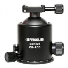 Feisol CB-70D Bola Kepala dengan Pelepasan Rilis QP-144750-Internasional