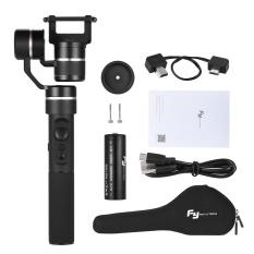 Feiyu G5 3-Axis Gimbal Genggam Aksi Penstabil Kamera Splash-Proof Design untuk GoPro HERO5 HERO4 HERO3 untuk Yi Cam 4 K untuk AEE untuk SONY Rxo dan Kamera Gaya dari Terjemahan Ukuran-Intl