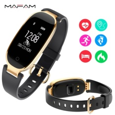 Spesifikasi Wanita Cerdas Olahraga Gelang S3 Girls Monitor Denyut Jantung Tidur Pedometer Lady Smart Silicone Watch Intl Oem
