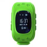 Jual Femgee Elect Q50 Smart Phone Watch Gsm Gps Anti Lost Kid Tracker Green Murah