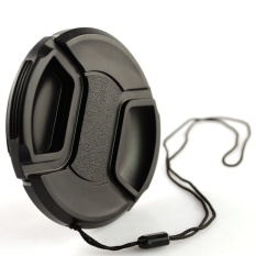 Feng standar 67mm/60D/600D cocok lensa penutup lensa tali tutup lensa