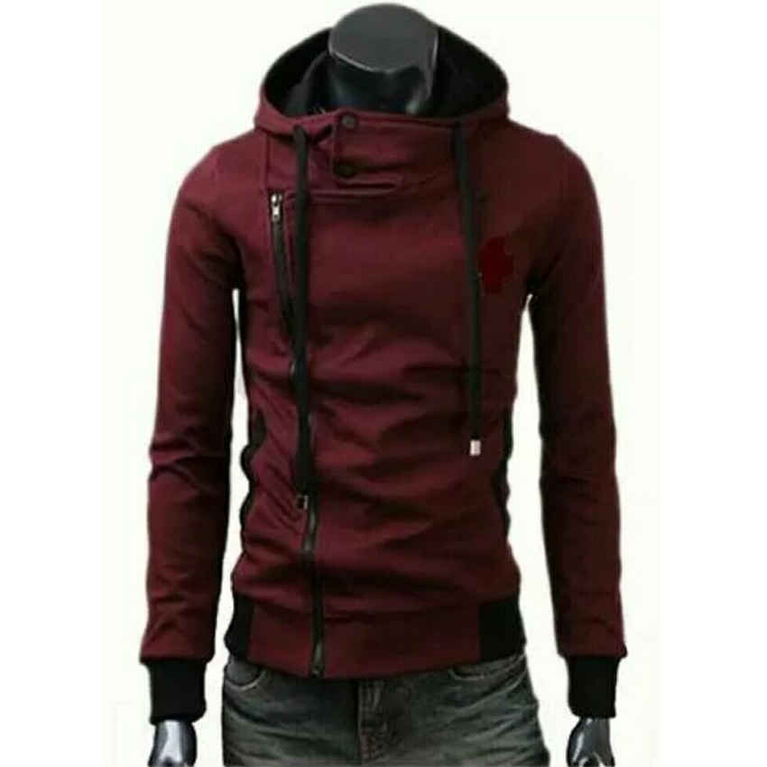 Harga Fg Clothing Jaket Harakiri Finger High Quality Merah New