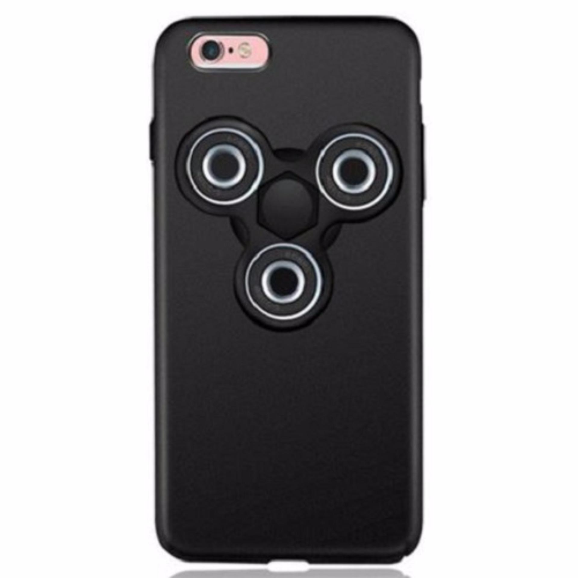 Jual Fidget Spinner Smartphone Case For Iphone 6 6S Plus Black Branded