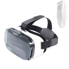Beli Fiit Vr 2N 3D Virtual Reality Kacamata Helm Desain Ergonomis Ringan Vs Vr Kotak Bluetooth Controller Putih Intl Online Tiongkok