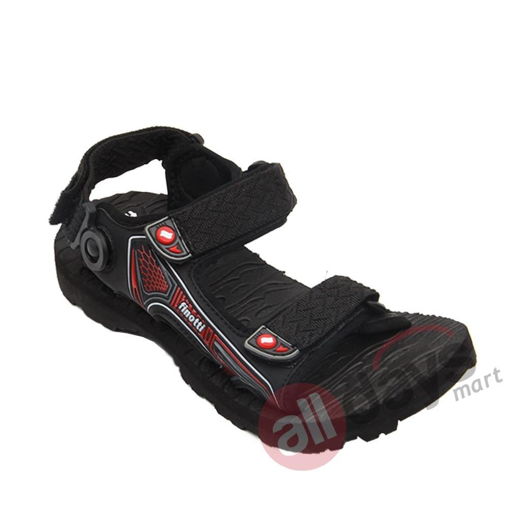 Beli Finotti Sandal Pria Mountain Iii Black Red Baru