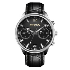 FINOW X5 AIR 3g Smartwatch Ponsel 1.39 Inch Android 5.1 MTK6580 Quad Core 1.3 GHz 2 GB RAM 16 GB ROM GPS Bluetooth 4.0 Pedometer-Intl