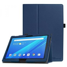 Fintie Case for Lenovo Tab 4 10 / Lenovo Tab 4 Plus 10 / AT&T Lenovo Moto Tab 10.1-Inch Tablet - Premium PU Leather Folio Cover with Auto Sleep / Wake, Navy - intl