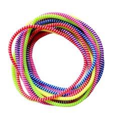 FIO ONLINE - Pelindung Kabel Dua Tone 6 pcs Mix Random Color