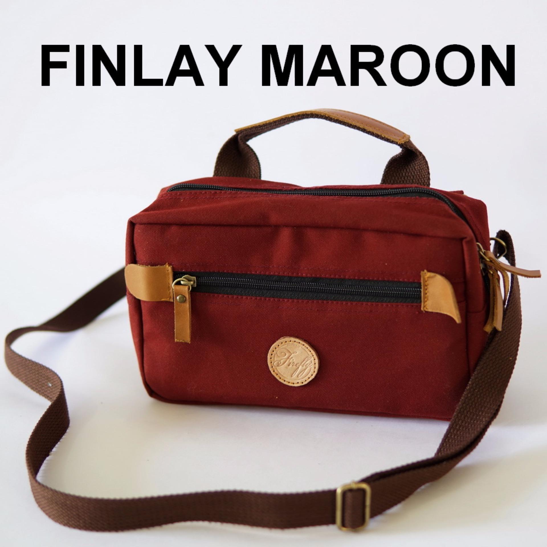 Beli Firefly Finlay Maroon Dopp Kit Lengkap
