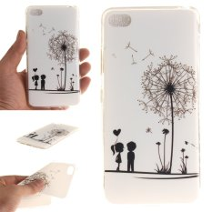 Fit Soft TPU Phone Sampul Belakang For Lenovo S90 Sisley S90T (DANDELION Lover)