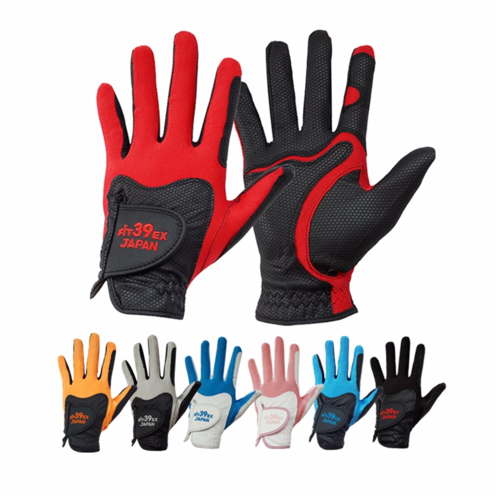 Harga Fit39Ex Golf Gloves Basic Black Asli Fit39