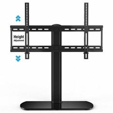 Fitueyes Universal TV Stand/Base Tabletop TV Stand dengan Wall Mount Sampai 60 Inch TV Layar Datar Vizio/Samsung/SONY TV/XBOX ONE/TV Komponen TT107001GB-Intl
