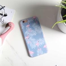 Flamingo Berpola Full Cover Case Hard Pelindung untuk IPhone 6 Plus/6 S Plus Baru-Internasional
