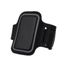 Flanelade Armband Jogging Sport iPhone 6/6s - Hitam