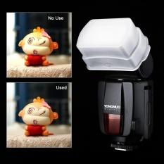 Flash Bounce Diffuser Soft Cover untuk YONGNUO YN560 III YN560 II YN565 (putih) - intl