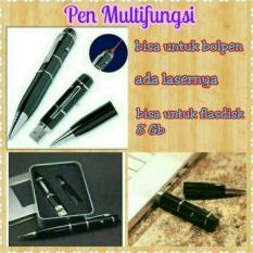 Beli Flashdisk Pulpen Pen 8Gb With Laser Pointer Kemasan Box Hitam Mall Indo