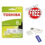 Toko Flashdisk Toshiba Hayabusa 8Gb Buy 1 Get 1 Free White Terlengkap