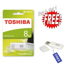 Beli Flashdisk Toshiba Hayabusa 8Gb Buy 1 Get 1 Free White Kredit