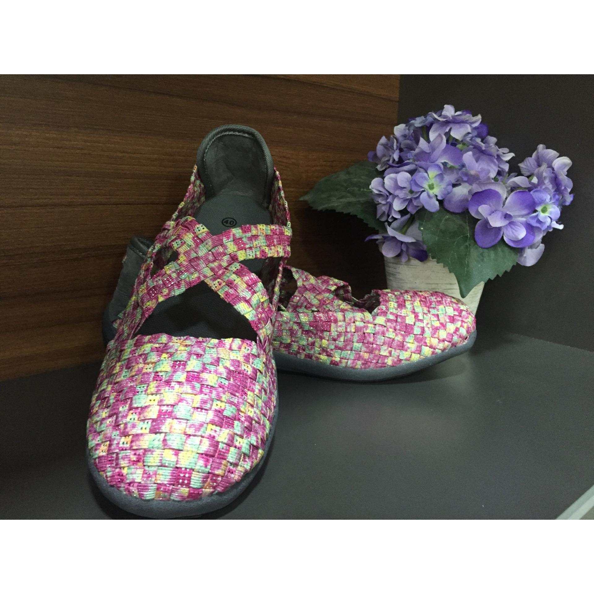 Flat Shoes Import Korea – 002 Purple